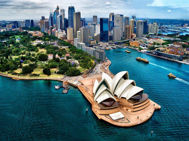 Виды Австралии
