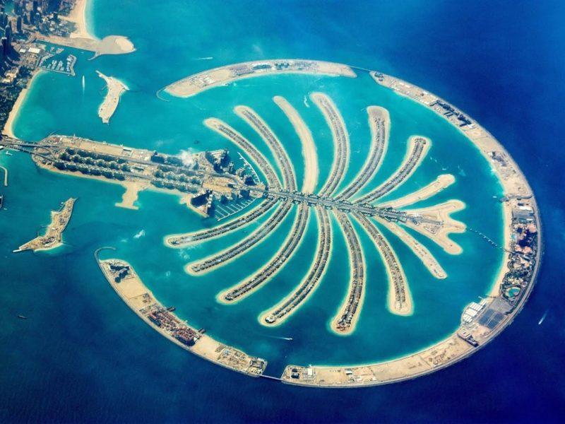Острова пальма в Дубае