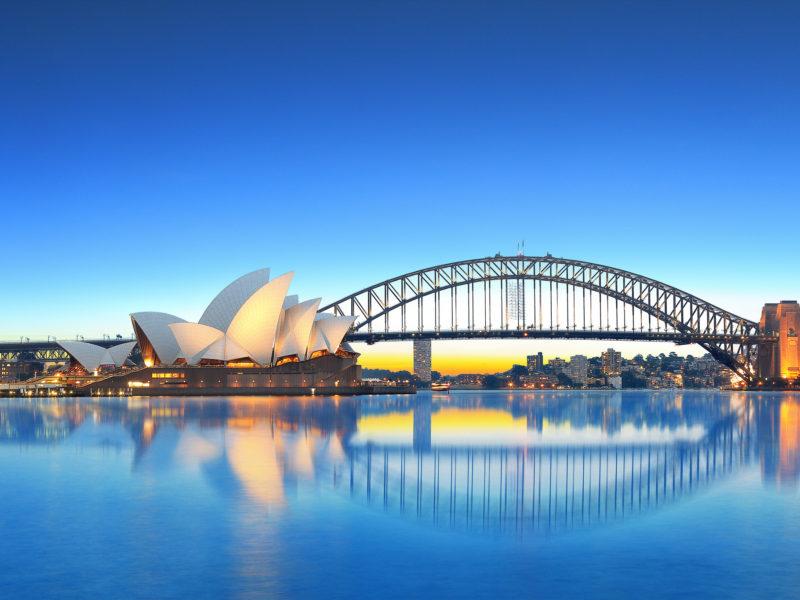 Пейзаж Сиднея