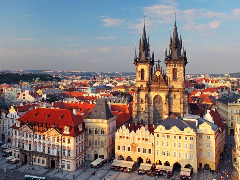 Чехия центр Праги