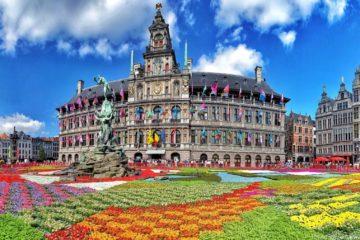 Достопримечательности Антверпена. Бельгия