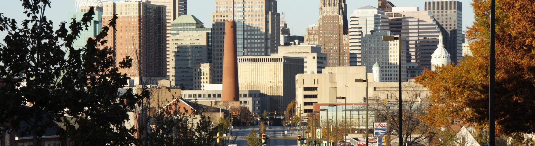 Обзор американского города Мэриленд