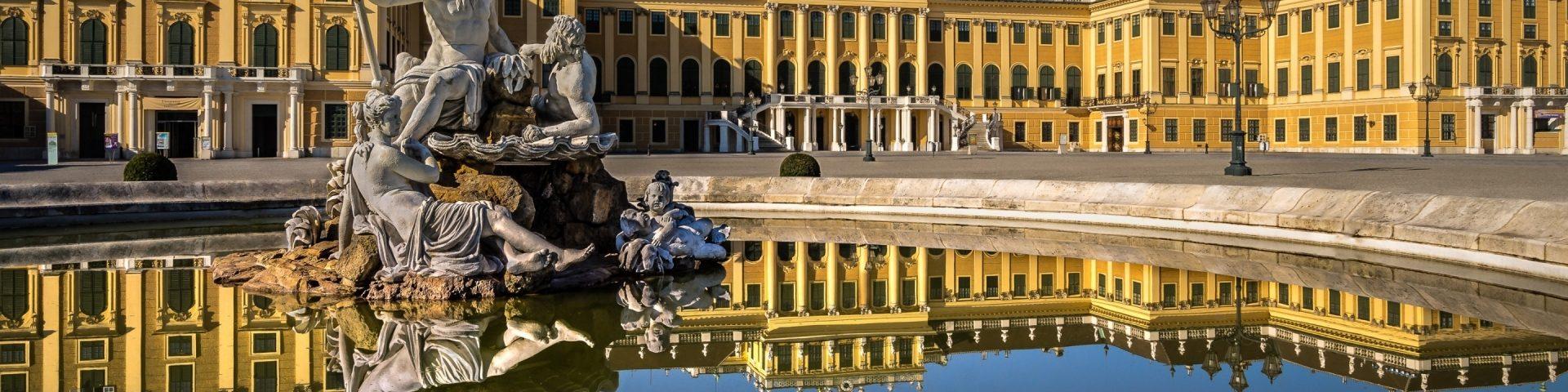 Достопримечательности Вены дворец Schonbrunn