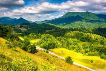 Аппалачи - самые старые горы в Соединенных Штатах