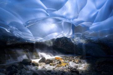 Ледники и вулканы Аляски